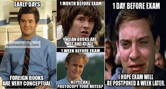 Medical student exam
