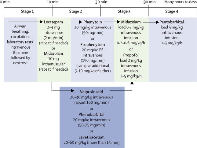 Status Epilepticus and Neonatal seizures : Updated Management